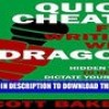 PDF Quick Cheats for Writing With Dragon: Hidden Tricks to Help You Dictate Your Book, Work