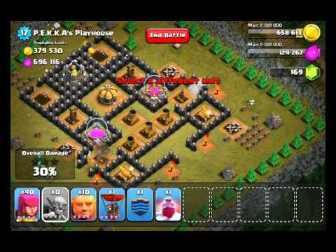 Clash of Clans Level 49 – PEKKA's (PEKKAs) Playhouse — HACK