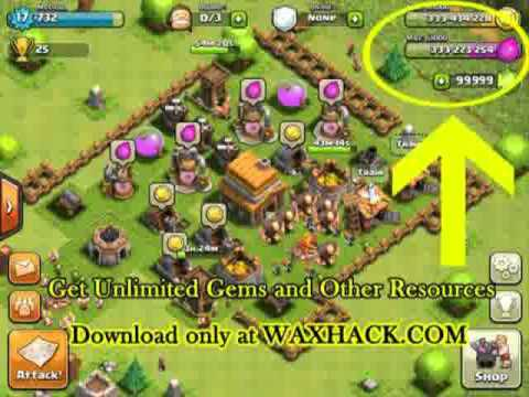 CLASH OF CLANS Hack December 2012 Release -CLASH OF CLANS Cheat