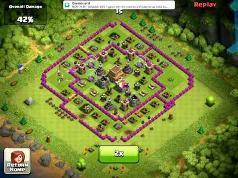 clash of clans ios playthrough 14 megablaster clash of clans hack 2012