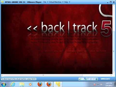 wpa crack with backtrack 5