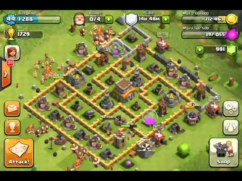 commentary clash of clans level 47 rolling terror clash of clans
