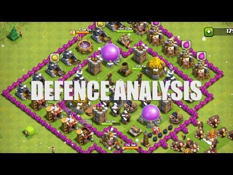 of clans part 8 farming clash of clans defence strategy part 3 clash