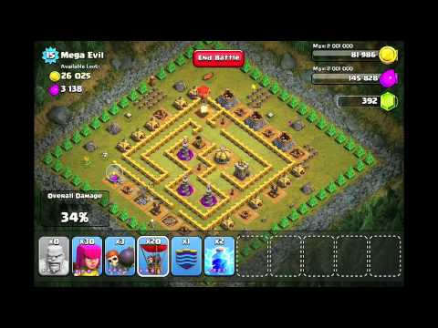 Clash of Clans Level 42 – Mega Evil