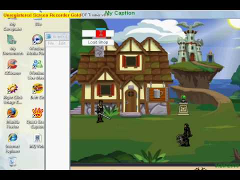 Hacking DragonFable Trainer UPDATED