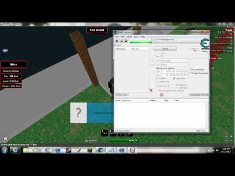 Roblox Cheat Engine 6.2 tutorial Part 2