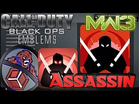 COD Black Ops – MW3 Assassin Perk Emblem Tutorial — HACK CHEAT DOWNLOAD