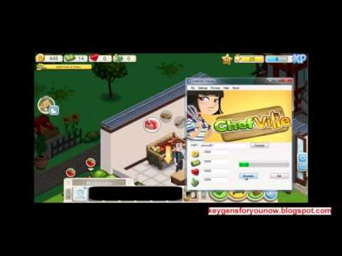 Chefville Hack Cheat 2013 Coins Gold And Energy Free