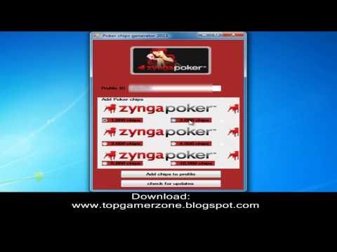 Hack zynga poker chips adder + download link