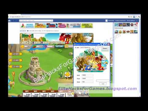 Dragon City Hack 2013 Cheats Tool Gold, Food and Gems Maker PROOF