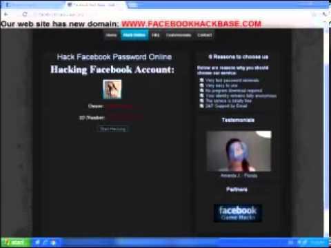 Hack Facebook Online 2013 (Working Proof Video)