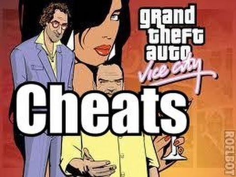 Gta grand theft auto vice city cheats cheat codes weapons full