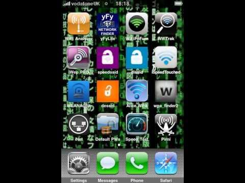 Cracker code wifi iphone