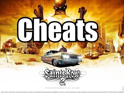 Saints Row  Cheats Car Mass