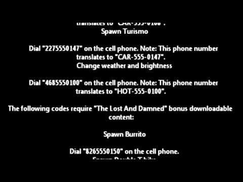 Grand Theft Auto (GTA) 4 All Cheats, Cheat Codes — HACK ...