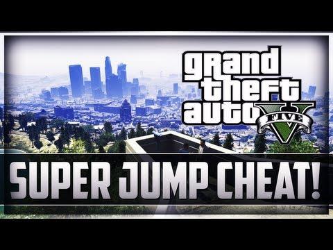 Super Jump GTA 5 Cheats PS3