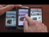 Android 2.2 (Froyo) Web Browser Speed Test (Flash On)