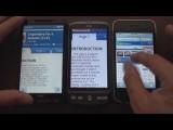 HTC Desire vs iPhone vs HD2: Web Browsing