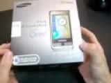 Samsung Omnia i900 Unboxing