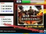 War Commander Hack and Cheats Tool Unlimited Gold, Oil, Metal and Power