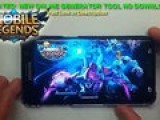 Mobile Legends Hack Tool Free Diamonds Cheats iOSAndroidNo ROOTNO JAILBREAK1