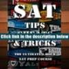 Best Ebook  SAT Tips Cheats   Tricks – The Ultimate 1 Hour SAT Prep Course: Last Minute Tactics To