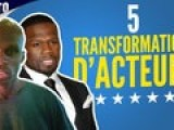 Top 5 des transformations de corps d'acteurs